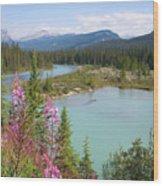 Bow River Banff National Park Canada Wood Print