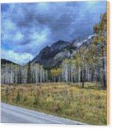 Bow Valley Parkway Banff National Park Alberta Canada Wood Print