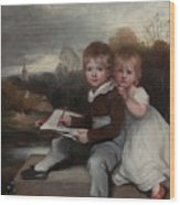 Bowden Children Wood Print