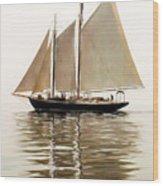 Bowditch Wood Print