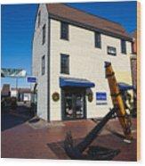Bowen's Wharf Newport Rhode Island Wood Print