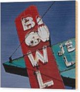 Bowl Je Wood Print