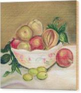 Bowl Of Renoir Wood Print