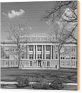 Bowling Green State University Hall Wood Print