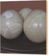 Bowls Wood Print