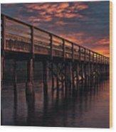 Bowman Bay Wa Wood Print