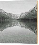 Bowman Lake - Glacier National Park 2 Wood Print