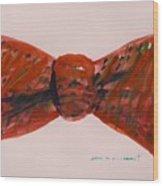 Bowtie 1 Wood Print
