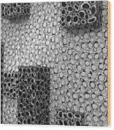 Box  Circles Squared 2 Wood Print
