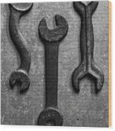 Box Wrench Wood Print