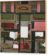 Boxed Scramble Wood Print