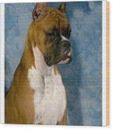 Boxer 151 Wood Print