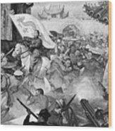 Boxer Rebellion Wood Print