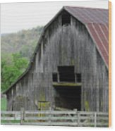 Boxley Valley Barn Wood Print