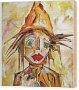 Boy 4262 Wood Print