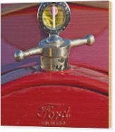 Boyce Motometer Hood Ornament Wood Print
