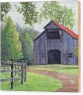 Boyd Mill Barn Wood Print