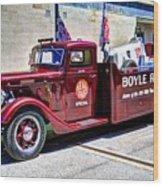 Boyle Racing Headquarters  Wood Print