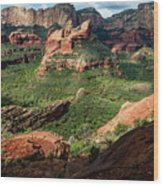 Boynton Canyon 05-942 Wood Print