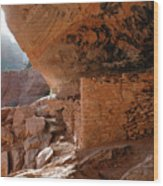 Boynton Canyon Ruins Wood Print