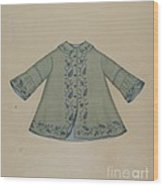 Boy's Coat Wood Print