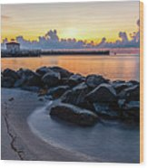 Boyton Beach Inlet Wood Print