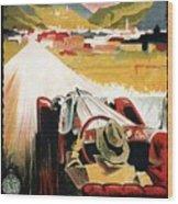 Bozen-gries - Dolomiten - Bolzano-gries - Retro Travel Poster - Vintage Poster Wood Print