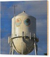 Bradenton Water Tower  Wood Print