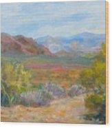 Bradshaws, West Of Phoenix Wood Print