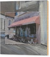 Brady Street - Peter Scortino Bakery Layered Wood Print