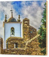 Braganca Bell Tower Wood Print