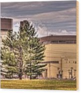 Braidwood Reactor 1 Wood Print