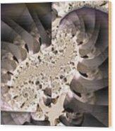 Brain Stem Wood Print