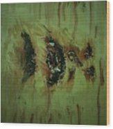 Brain Wash Wood Print