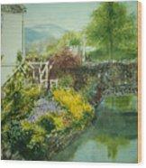Braithwaite Bridge Wood Print