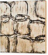 Branded Wood Print