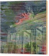 Brandenburg Brilliance Wood Print