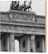 Brandenburg Gate Wood Print
