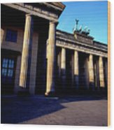 Brandenburger Tor / Gate Berlin Germany Wood Print