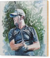 Branden Grace Watercolor Wood Print