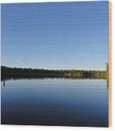 Brandy Lake Wood Print