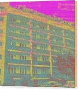 Bransk Hotel Wood Print