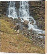 Branson Waterfall 4 Wood Print