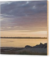 Brant Point Dawn - Nantucket Wood Print