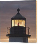 Brant Point Lanthorn - Nantucket Wood Print