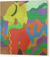 Brasil Boy Wood Print