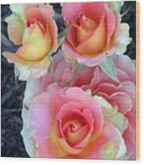 Brass Band Roses Wood Print