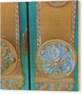 Brass Is Green Wood Print