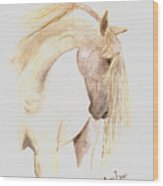 White Horse From The Wild Wood Print