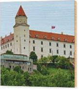 Bratislava Castle One Wood Print